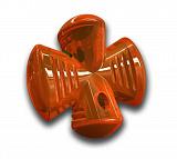 Bionic Opaque Stuffer Игрушка для собак Бионика Опак Стаффер для лакомств оранжевый