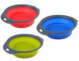 DEXAS Collapsible Pet Bowl Инновационная миска для кормления СРЕДНЯЯ