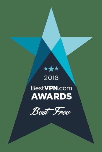 Best Free VPN Award 2018