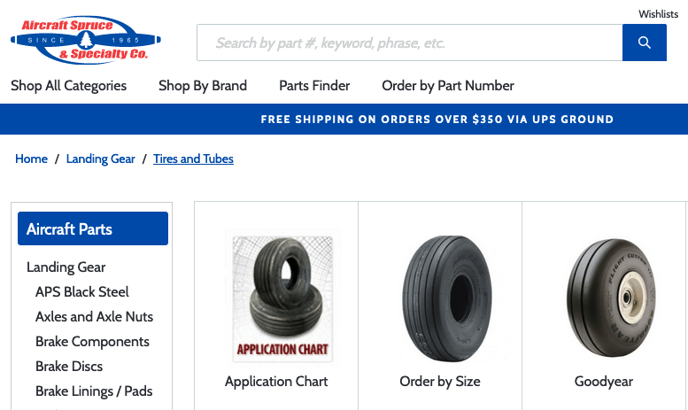 Need Tires? Visit Spruce's Store!