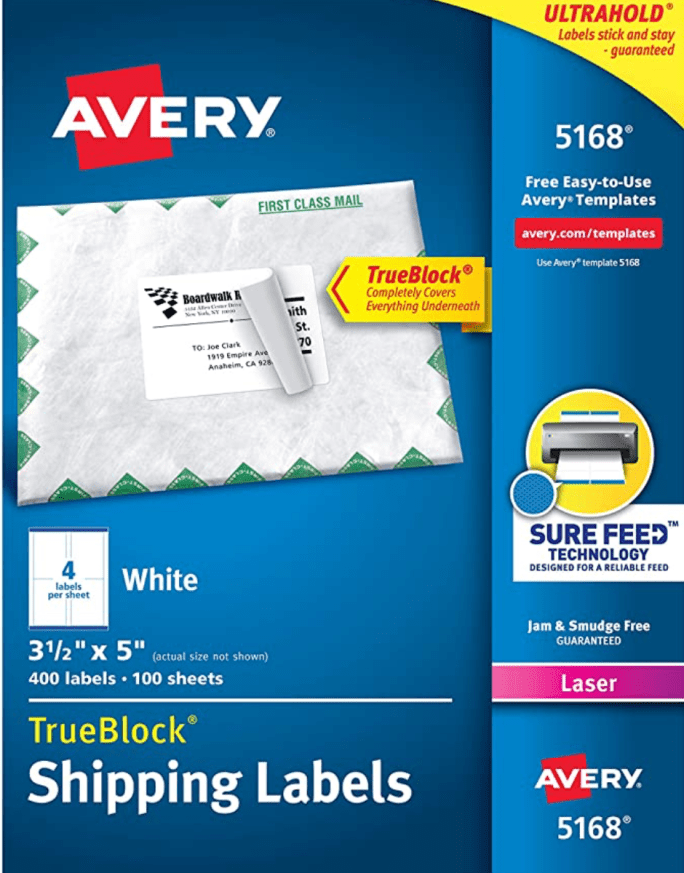 Avery5168Labels