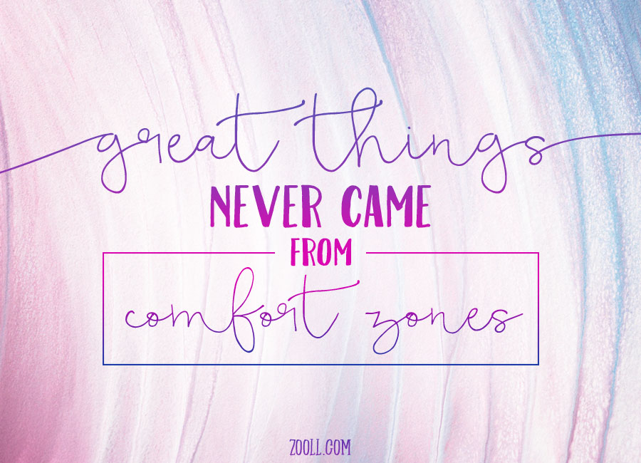 Quote of the Week: Great Things Never Came From Comfort ... on Outstanding Things  id=13838