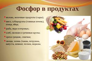 Фосфор описание и дневная доза минерального вещества