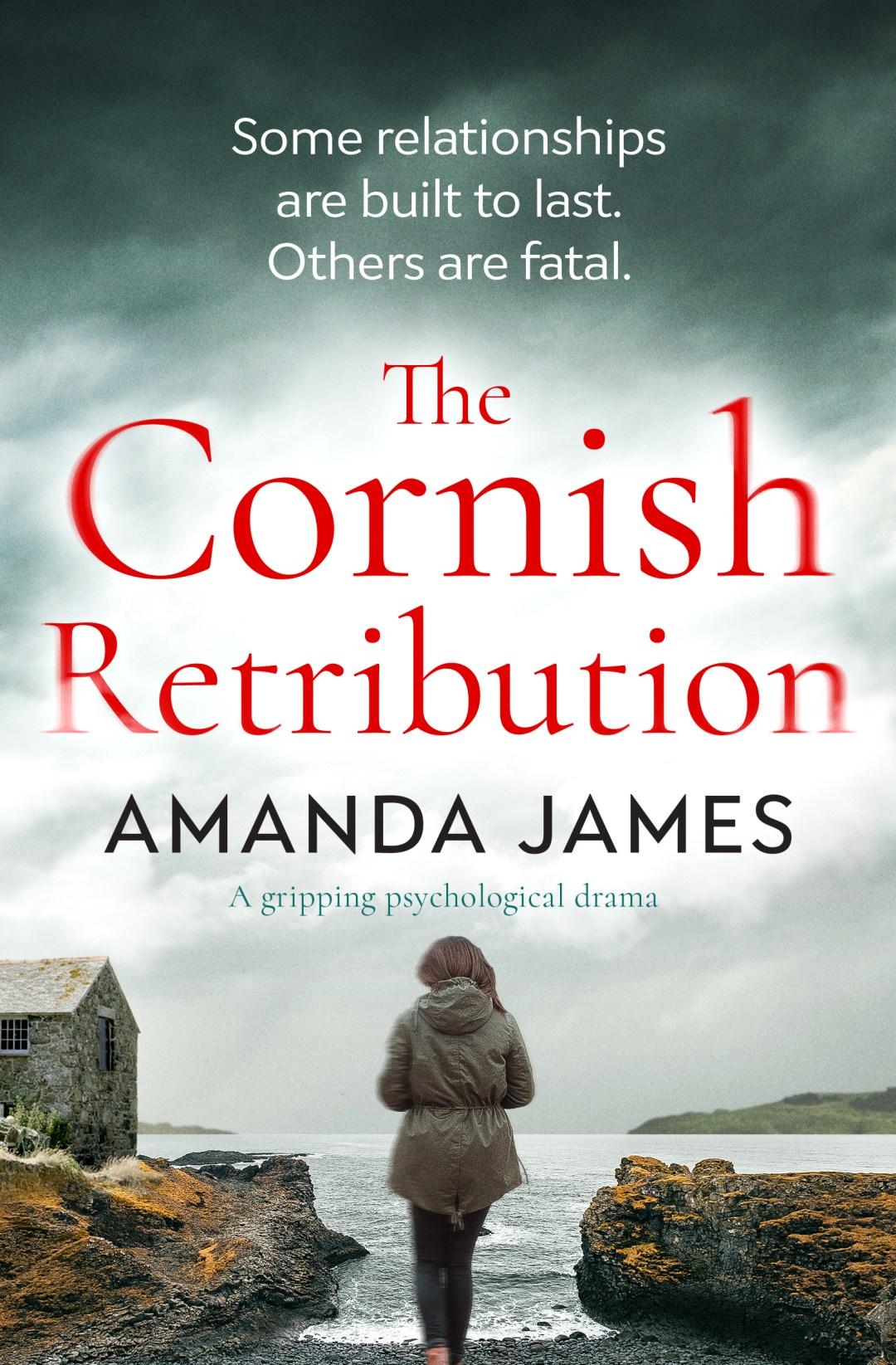 #BookReview of The Cornish Retribution by Amanda James @akjames61 @bloodhoundbook