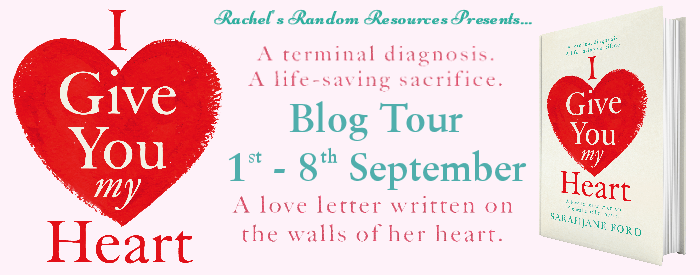 #BookReview of I Give You my Heart by SarahJane Ford @sjfordauthor @rararesources #giveaway