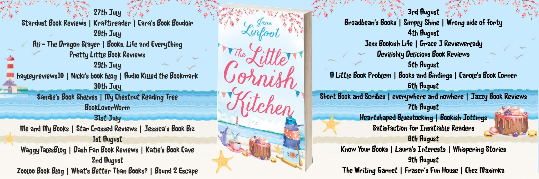#BookReview of The Little Cornish Kitchen by Jane Linfoot @janelinfoot @rararesources @HarperImpulse #giveaway