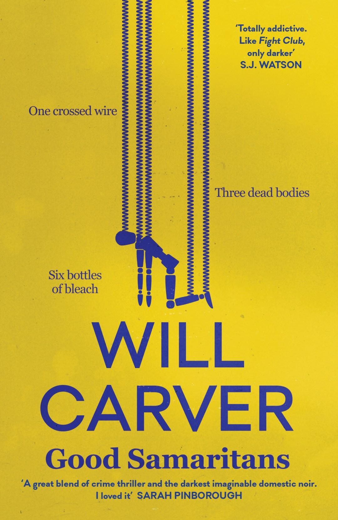 #BookReview of Good Samaritans by Will Carver @will_carver @annecater #Randomthingstour #teamorenda @orendabooks #GoodSamaritans #Sixbottlesofbleach #blogtour