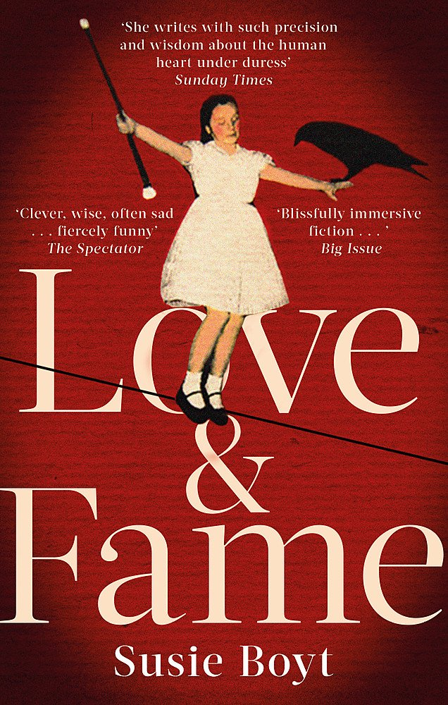 #BookReview of Love and Fame by Susie Boyt #LoveAndFame