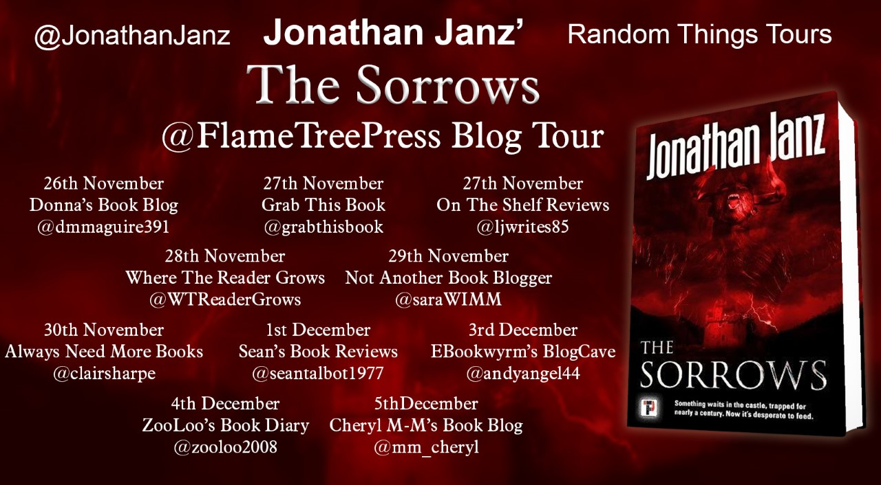 #BookReview of The Sorrows by Jonathan Janz @JonathanJanz @annecater @flametreepress