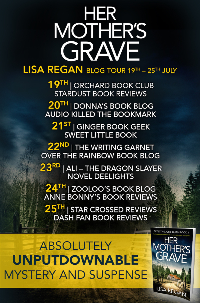 #BookReview of Her Mother's Grave by Lisa Regan @Lisalregan @nholten40 @bookouture