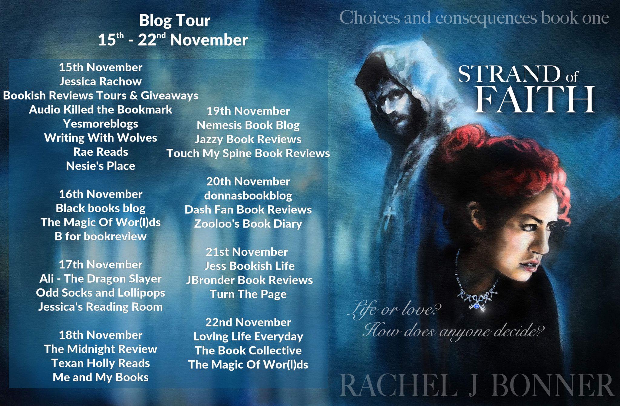 #BookReview of Strand of Faith by Rachel J. Bonner @RachelJBonner1 @rararesources #giveaway