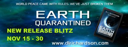#GuestPost by D.L Richardson and #BookBlitz of Earth Quarantined #giveaway @DLRichardson1