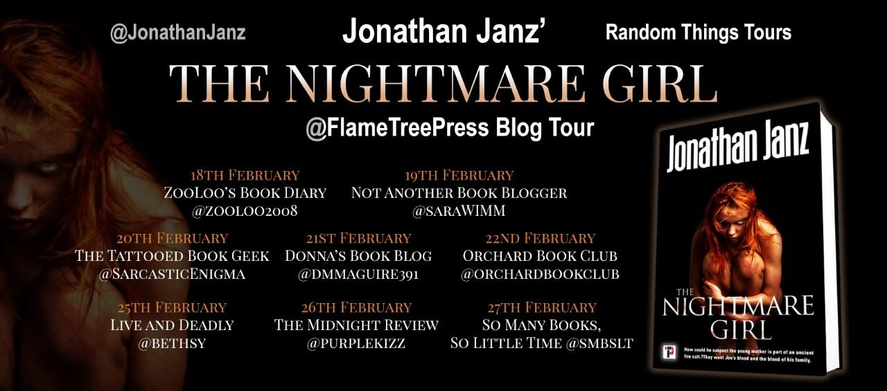 #BookReview of The Nightmare Girl by Jonathan Janz @jonathanjanz @flametreepress @annecater #RandomThingsTours
