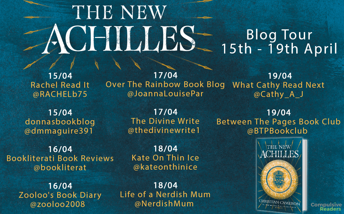 #BookReview of The New Achilles by Christian Cameron @Phokion1 @Tr4cyF3nt0n @orionbooks