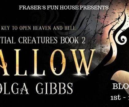 #BookReview of Hallow by Olga Gibbs @olgagibbsauthor @FrasersFunHouse #CelestialCreatures #OlgaGibbs #HallowBook #Hallow