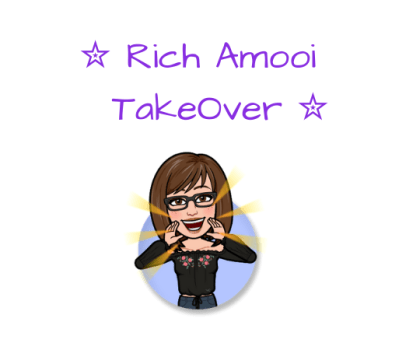 Author Appreciation Rich Amooi @RichAmooi #AuthorTakeOver