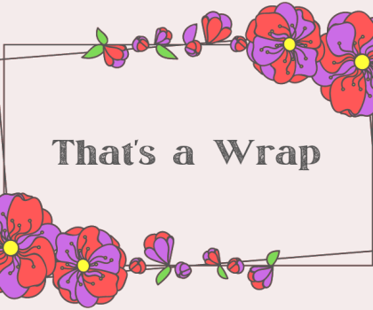 Well, That Was March! #Thatsawrap