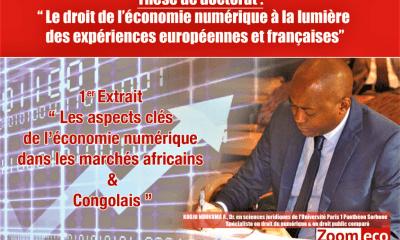Kodjo Ndukuma : « Les aspects clés de l'économie numérique dans les marchés africains et congolais» 3