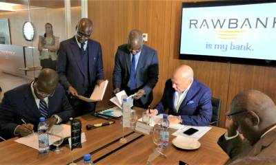 RDC: Rawbank signe un contrat avec Trade and Development Bank 8