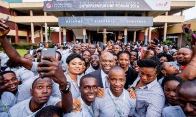 Afrique :Fondation Tony Elumelu, le4èmeforum de l'entrepreneuriat se tiendra le 25 octobre 2018 à Lagos 12