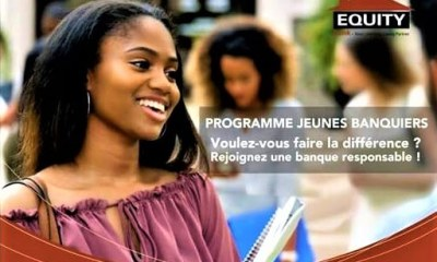 RDC: Equity Bank recrute des jeunes diplômés d'université jusqu'au 13 septembre 2018 20