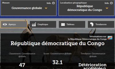 RDC: la gouvernance connait une «détérioration accélérée», selon l'Indice Ibrahim 2018 1