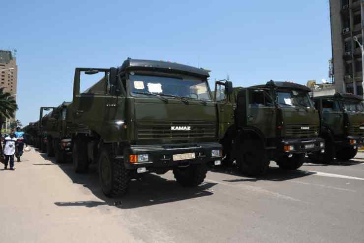 RDC : remise officielle de matériels roulants et volants à la CENI ! 2