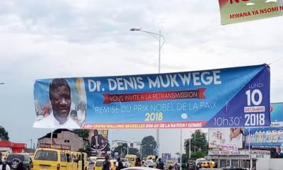 Monde : Dénis Mukwege à Oslo ce lundi pour recevoir son prix Nobel 7