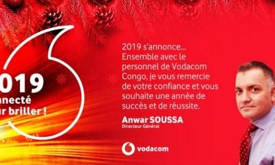 RDC : voeux de fin d'année du directeur général de Vodacom 4