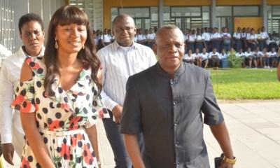 RDC : la députée Aminata visite son ancienne école, le Lycée Shaumba et l'Institut Lisanga 4