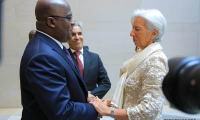 Lagarde : «je suis ravie qu'on ait pu renouer la relation pour améliorer l'économie de la RDC» 10