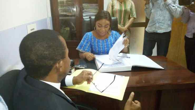 RDC : Lokondo dépose sa candidature au perchoir de l'Assemblée nationale 2