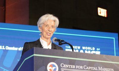 Christine Lagarde: «l'économie mondiale traverse un moment délicat» 5