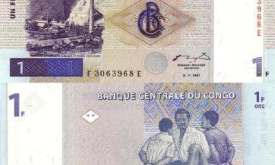 RDC : 17 mai 1997 marque l'avènement du franc congolais ! 17