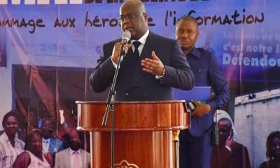 RDC : Tshisekedi tient à rétablir la presse dans ses fonctions de 4ème pouvoir 11