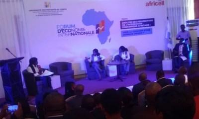 RDC : 8ème édition du Forum d'économie internationale a vécu à l'Université protestante 97