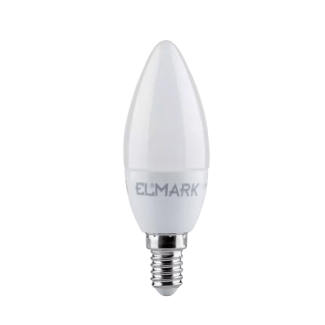 LED SIJALICA CANDLE, C37, 6W, E14, 230V, HLADNO BELA, 99LED803 - Cena