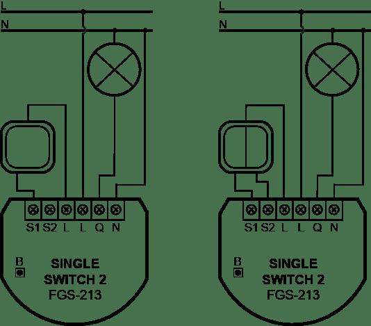 FGS-223 fibaro prekidač uputstvo za manualno povezivanje cena ugradja servis Beograd Srbija Pametne kuce Smart home automatizacija