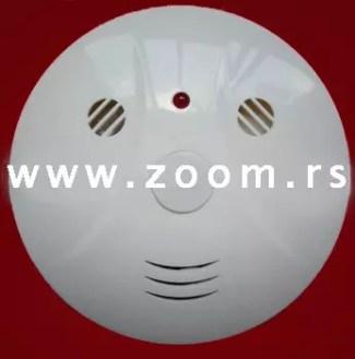 Samostalni senzor požara na baterije sa sirenom za detekciju dima
