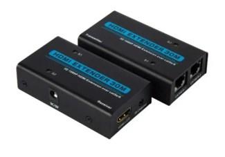 HDMI EXTENDER n UTP lan kabl. produžava HDMI kabl do 30 metara. Cena