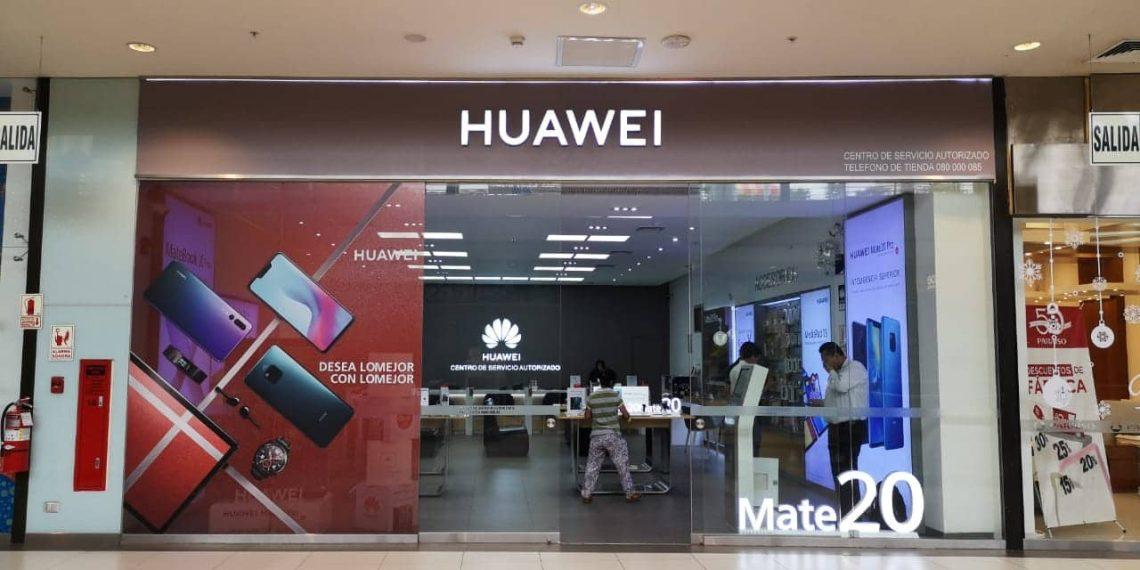 mall del sur - huawei
