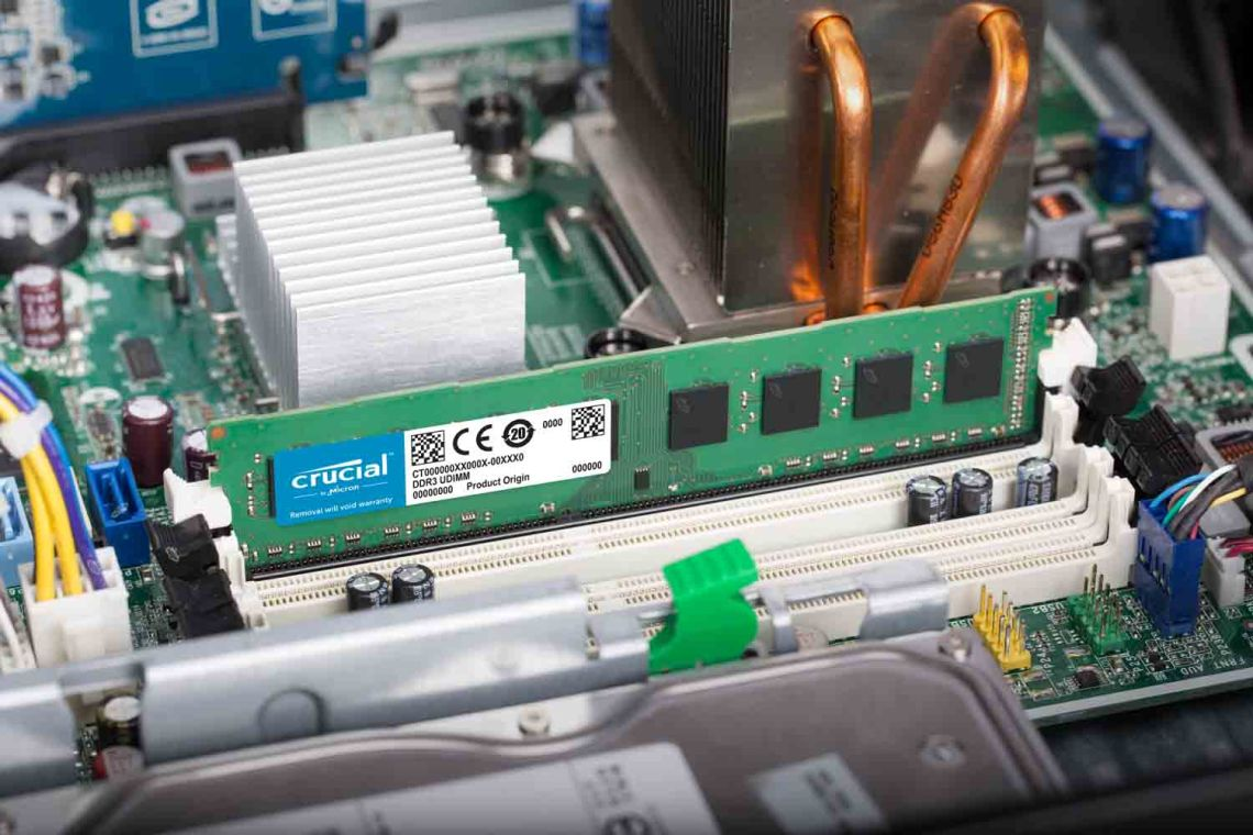 Crucial DDR3 UDIMM Lifestyle Motherboard