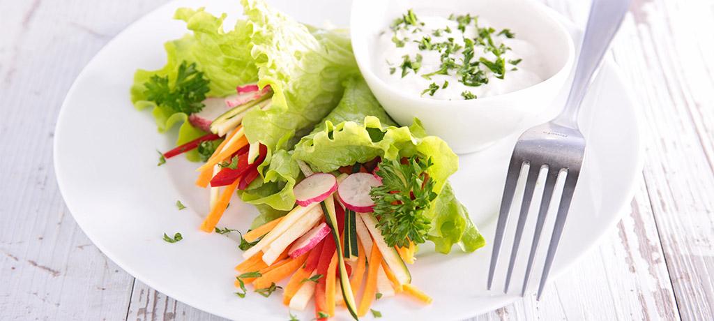 Dip de verduras