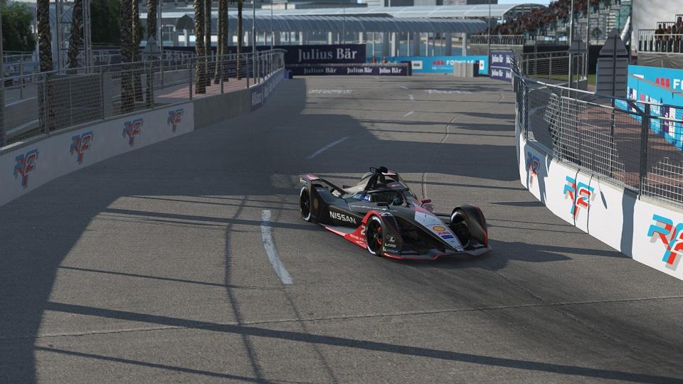 Formula E Race at Home Challenge Race 4