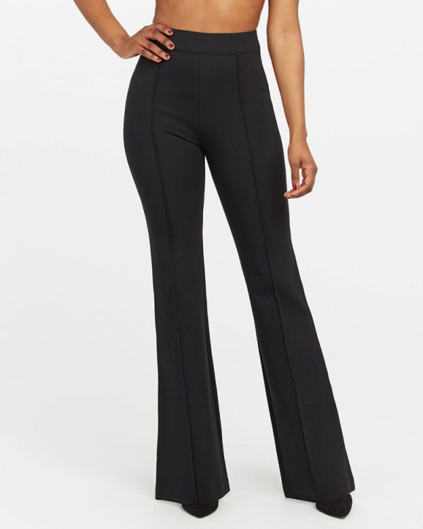Spanx Hi-Rise Flare The Perfect Black Pant Zoomer Zones 2