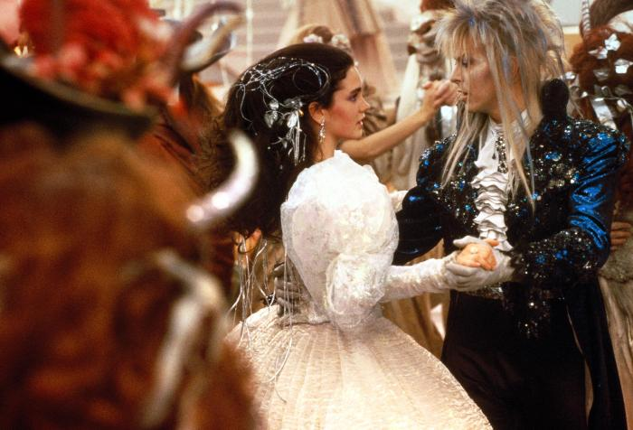 labyrinth with jennifer connelly and david bowie 19861