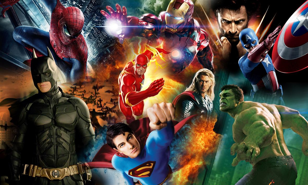 cine de superheroes