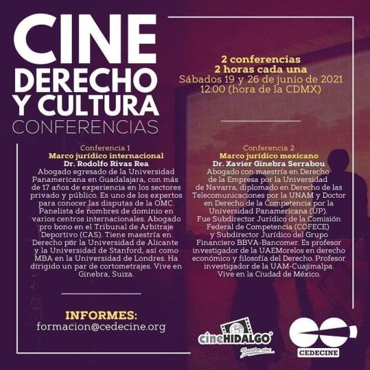 conferencia exhibición cinematográfica
