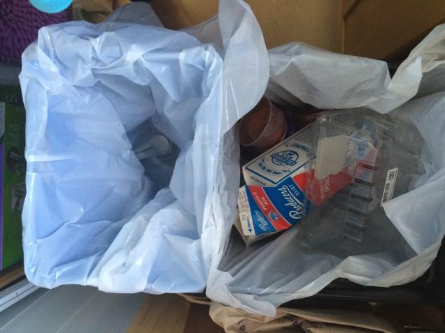 Recycling vs Trash