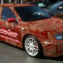 Baconmobile-the world's first bacon-wrapped car
